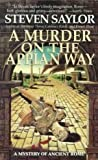 img - for A Murder on the Appian Way book / textbook / text book