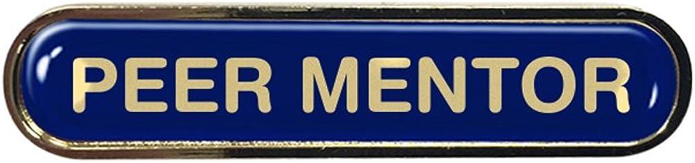 Burgundy Capricornone Peer Mentor Gel Domed School Bar Badge