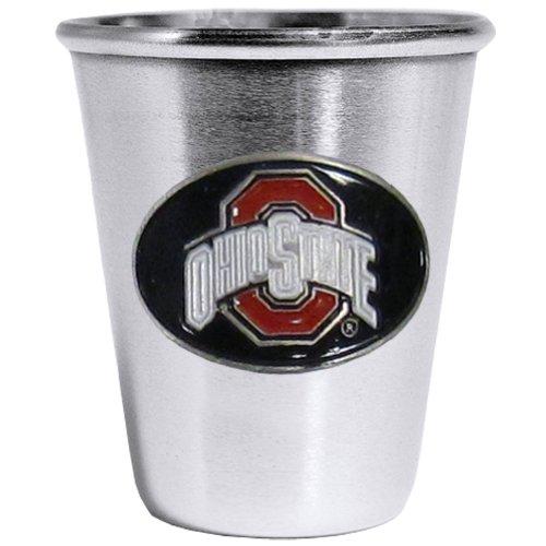 Siskiyou NCAA Ohio State Buckeyes Steel Shot Glass