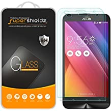 "[2-Pack] Supershieldz for Asus ""ZenFone 2 Laser"" 5.5 Inch [ZE550KL/ZE551KL] Tempered Glass Screen Protector, Anti-Scratch, Anti-Fingerprint, Lifetime Replacement Warranty"