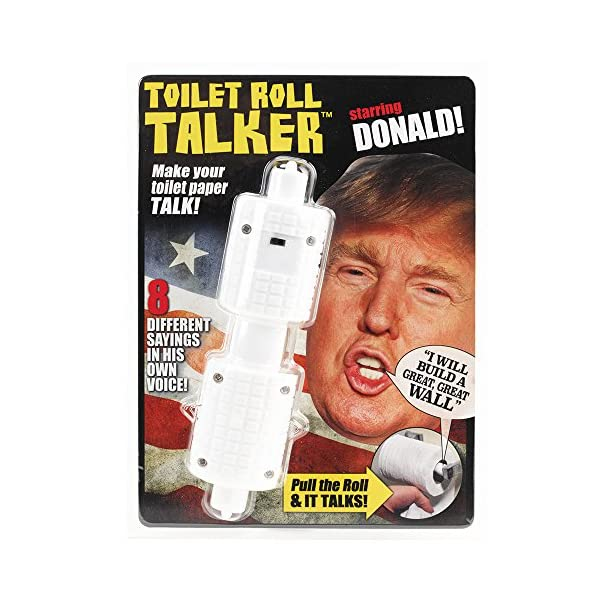Donald-Trump-Toilet-Roll-Talker-Makes-Regular-Toilet-Paper-Talk-with-Trumps-REAL-VOICE-8-Hilarious-Sayings-Fun-Gag-Gift-for-Hillary-Trump-Fans-Bathroom-Joke-Gift-Funny-Gift-for-any-Holiday