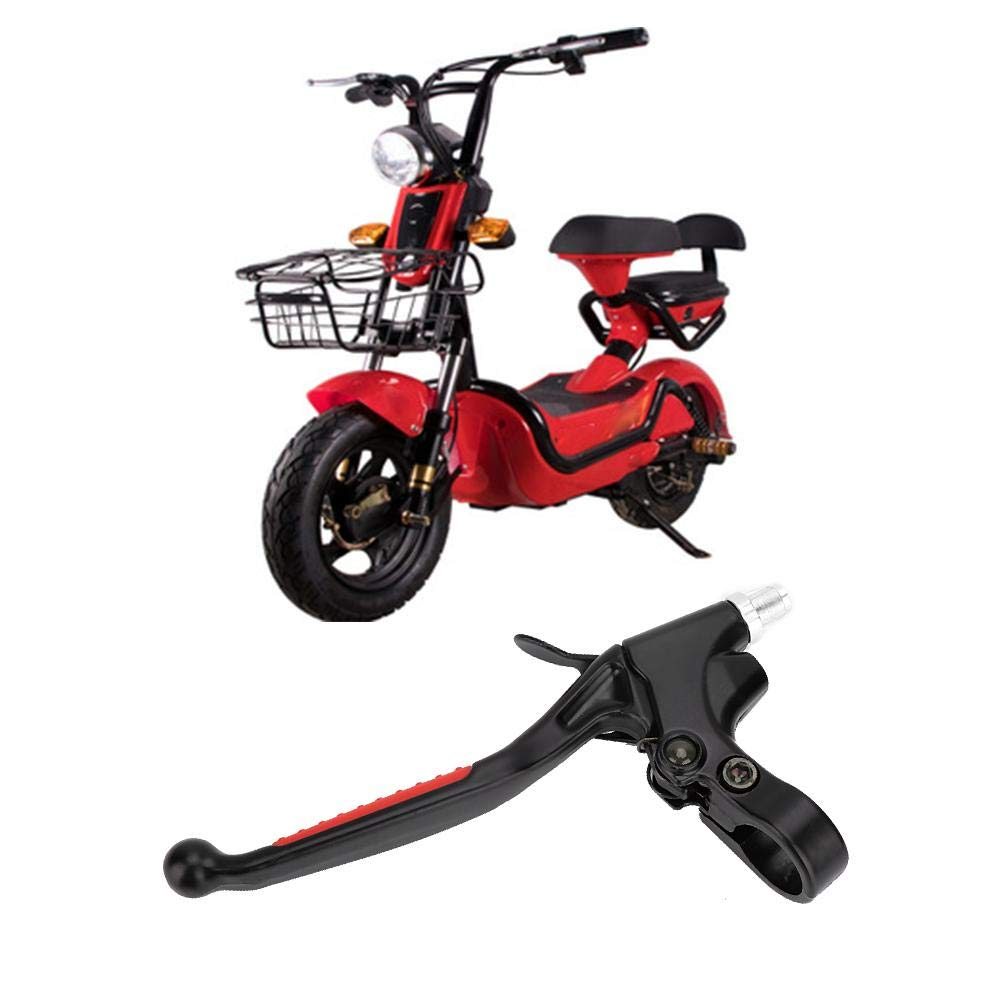 motocicleta bicicleta mango largo embrague palanca de freno de agarre para 50CC 60CC 80CC Motocicleta palanca de freno