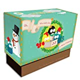 United Feathered Friends Boxed Note Cards - White Christmas | Rungtong & Co. Stationery Line