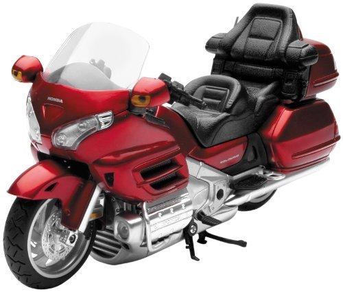 [해외]뉴 레이 완구 1:12 스케일 스트리트 모델 - NewRay의 Honda 2010 Goldwing Burgandy 57253A/New Ray Toys 1:12 Scale Street Model - Honda 2010