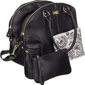 Amazon Com Isoki Madame Polly Baby Diaper Bag Large