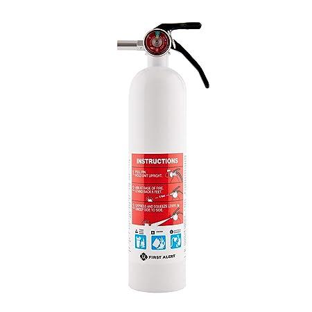 First Alert Fire Extinguisher Marine Fire Extinguisher, White, 8.8 , FE1A10GR