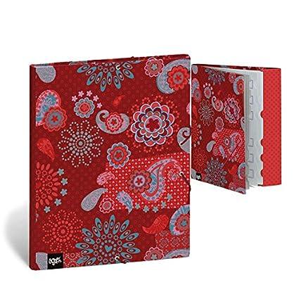 BUSQUETS - Carpeta Separadora Hello Goa rojo Busquets