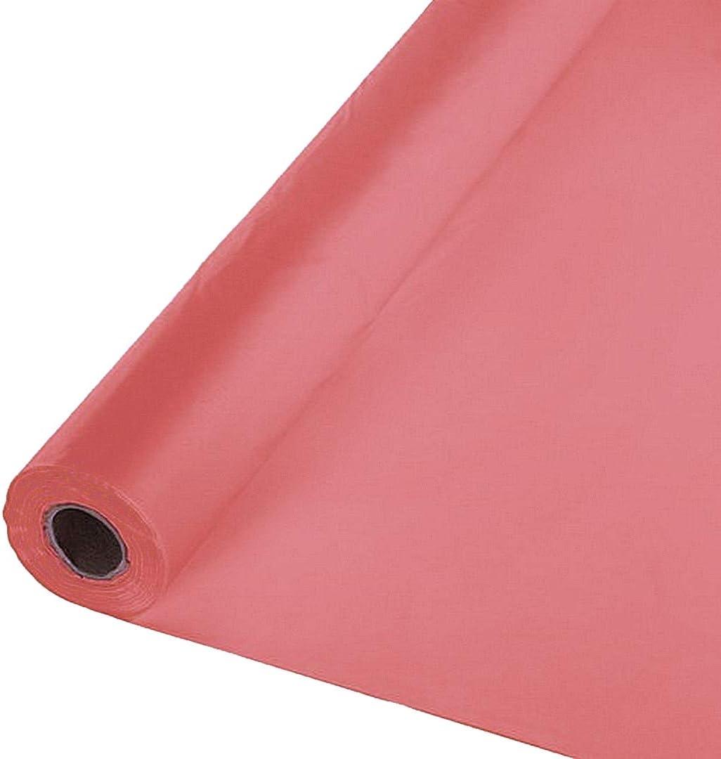 "40/""x150 ft Heavy Duty Banquet Roll Plastic Table Cloth Hunter Green"