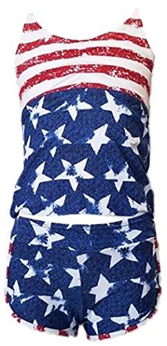 tobeinstyle-girls-crew-neck-tankini-boyshort-bottoms-american-flag-6-7