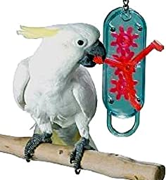 Lucky Bird Toys Gear Head 18in Length Large Bird Toy