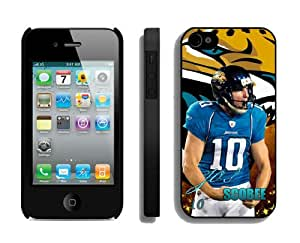 Jacksonville Jaguars Josh Scobee Iphone 4S Or Iphone 4 Case High Quality Phone Cover By CooCase