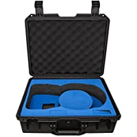 Water Proof Rugged Compact Storage Hard Case for DJI FPV VR Goggles + Fits Extra Accessories