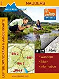 Wanderkarte & Luftbildpanoramakarte - Nauders
