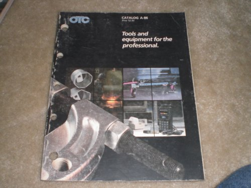 OTC Automotive Tools Catalog A-86