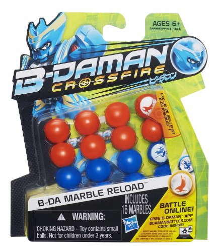 B-Daman Crossfire B-DA Marble Reload [Orange & Blue] for sale  Delivered anywhere in USA