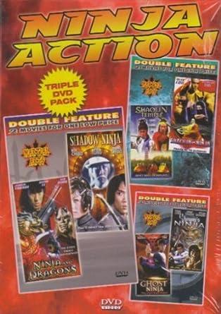 Amazon.com: Ninja Action 3 Pack: Ghost Ninja / Shoguns ...