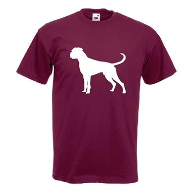 KIWISTAR - Deutscher Boxer German Hund T-Shirt in 15 verschiedenen Farben - Herren  Funshirt