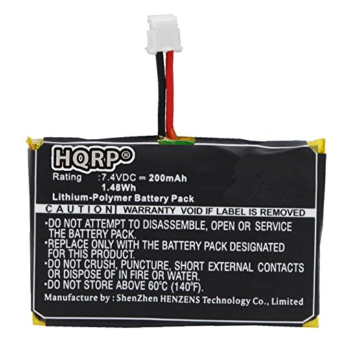 HQRP Battery for SportDOG HoundHunter 3225 SD-3225 Dog Training Receiver Collar Hound-Hunter Sport-Dog + Coaster
