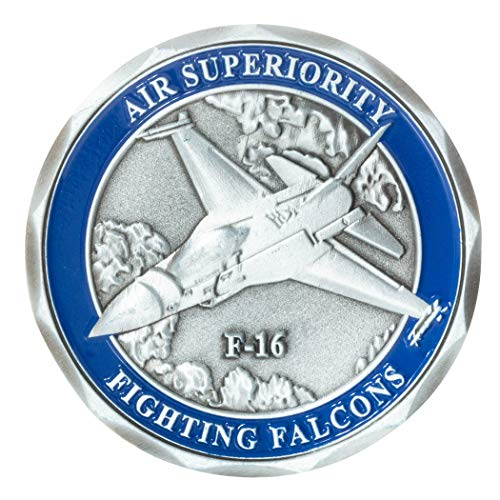 (United States Air Force F-16 Fighting Falcon Aircraft Challenge Coin )