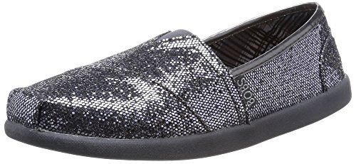 Papa Gun Bobs Slip Skechers Sequin Earth On Metal Womens aFSqxwgxz