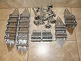 (GARRAG) Heavy Duty Garage Door Hinge & Roller Tune Up Kit for 16x7 or 18x7 Steel Rollers