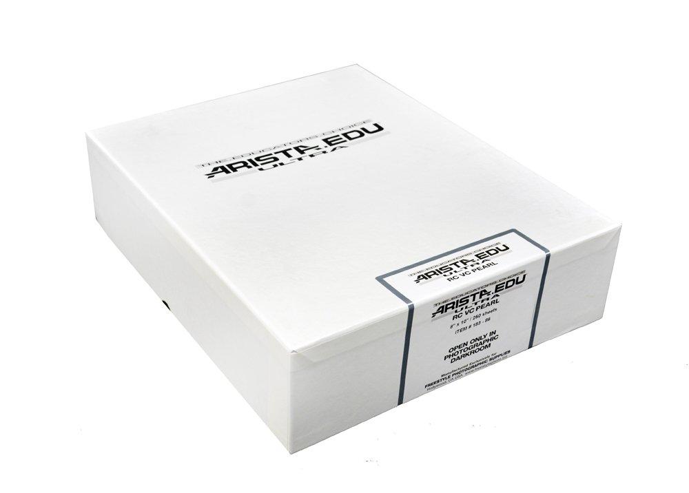 White ARISTA 18384 EDU Ultra VC RC Pearl 8X10//100