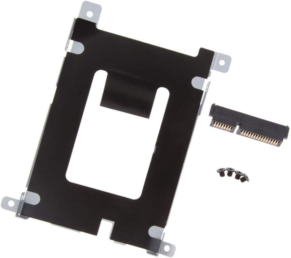 Hard Drive HDD SSD Caddy//Enclosure Bay for Dell Latitude E5420 E5520 HDD Connector W//Screws D80V4