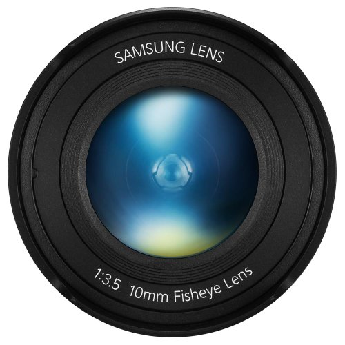 Samsung NX 10mm Fish Eye Camera Lens (Black) by Samsung (Image #3)