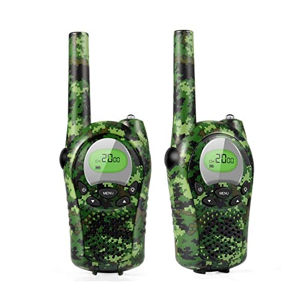 Car Guardiance Walkie Talkies for Kids, 22 Channel 2 Way Radio 3 Mile Long Range Kids Toys, Up to 3KM UHF Handheld Walkie Talkies, Toys and Gifts for 4, 5,6, 7, 8 Year Old Boys and Girls