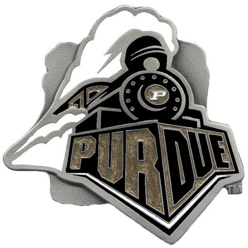 NCAA Purdue Boilermakers Logo Hitch Cover Class II & -