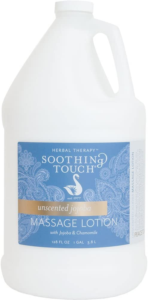 Soothing Touch Jojoba Unscented Lotion, 1 Gallon, 128 Fl Ounce: Industrial & Scientific
