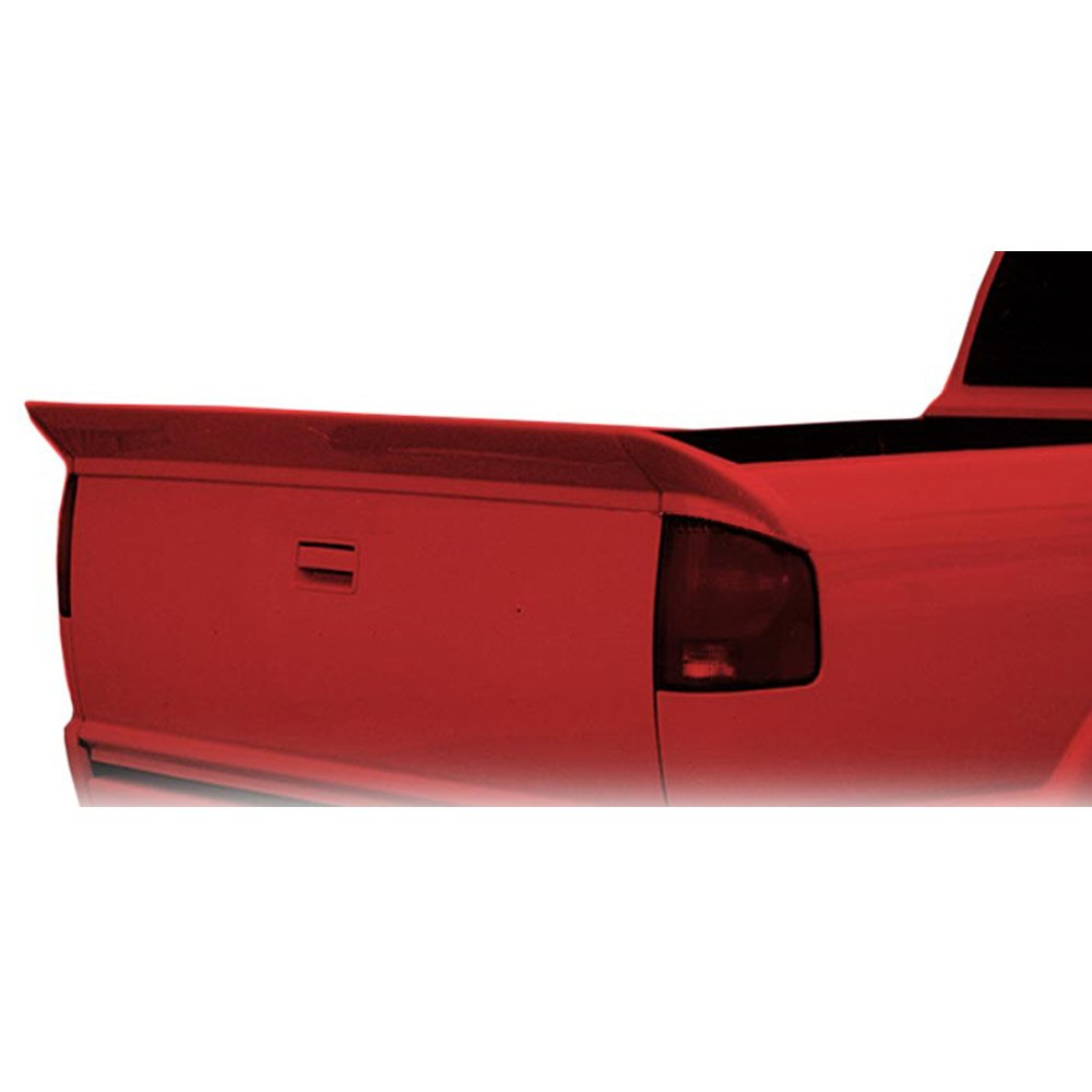 Trunk Spoiler Fits 1994-2003 Chevy S10 Sonoma | WW Style PU Unpainted 3PC  Trunk Boot Lip Spoiler Wing Add On Deck Lid By IKON MOTORSPORTS | 1995 1996