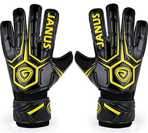 Professional Adult & Youth Latex Soccer Goalkeeper Gloves,Strong Grip Finger Protection Football Goalie Goal keeper,With Finger Spines to Prevent Injuries – DiZiSports Store