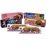 Little Debbie Cookie Variety Pack, 2 Boxes Of Oatmeal Creme Pies, 1 Box Of Fudge Rounds, 1 Box Of Chocolate Chip Creme Pies,