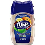 Tums Extra Strength Antacid Assorted Flavors Chewable Tablets - 48 Ea, 3 Pack