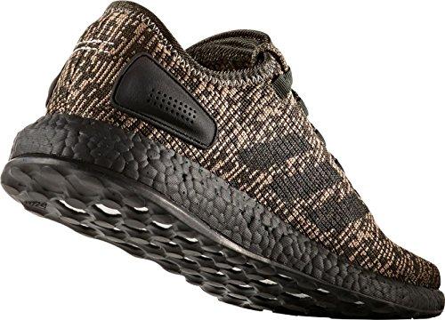 Chaussures De Course Pureboost Adidas Hommes, (vert / Noir, 8.5)