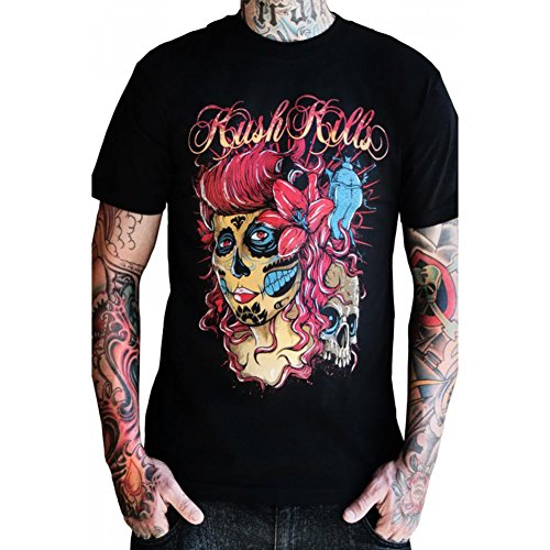 Mens-Kush-Kills-The-Deepest-Beauty-T-Shirt