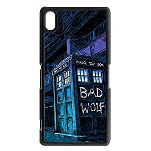 Doctor Who Sony Xperia Z2 Phone Case 010 Doctor Who Phone Case Protective Police Box Sony Xperia Z2 Back Smartphone Case