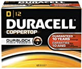 Best D Batteries - Duracell Coppertop D 12 Pack MN1300 Review
