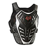FOX RACING 2018 TITAN RACE SUBFRAME CE Black/Silver SMALL/MEDIUM MX OFFROAD ADULT MEN'S PROTECTIVE GEAR