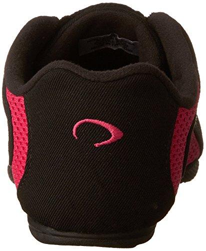 Bloch Women's Amalgam Canvas Dance Sneaker Hot Pink 2L7xlgs