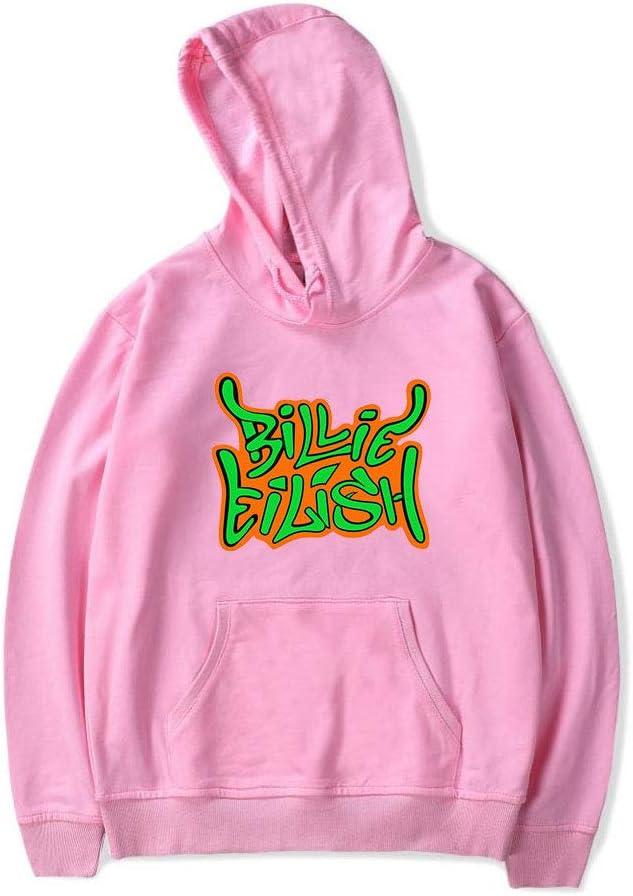 LXMT Unisexe Billie Eilish /à Capuche 3D Sweat Shirt l/âche Sweat /à Capuche de Casual,Marine,2XL