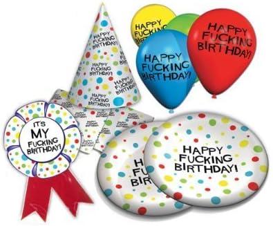 Amazon.com: Happy Fucking Fiesta de cumpleaños pack: Health ...