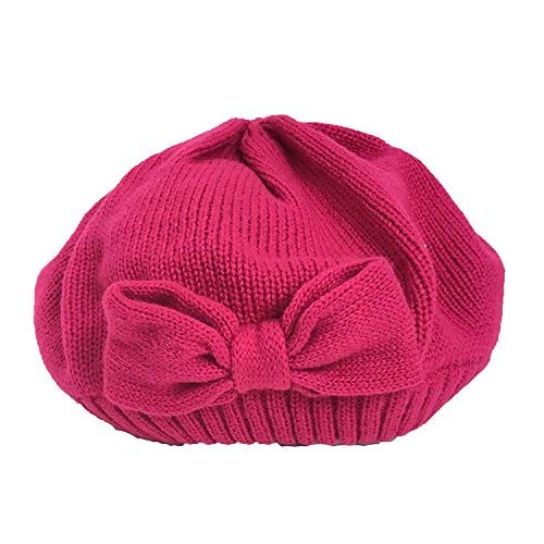 Kate Spade Gathered Bow Beret, Sweetheart Pink