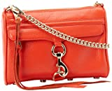 Rebecca Minkoff Mini MAC Convertible Cross-Body Handbag,Persimmon,One Size