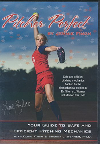 Pitcher Perfect by Jennie Finch Your Guide to Safe and Efficient Pitching Mechanics with Doug Finch and Sherry L. Werner (2011 - Dvd Finch Jennie