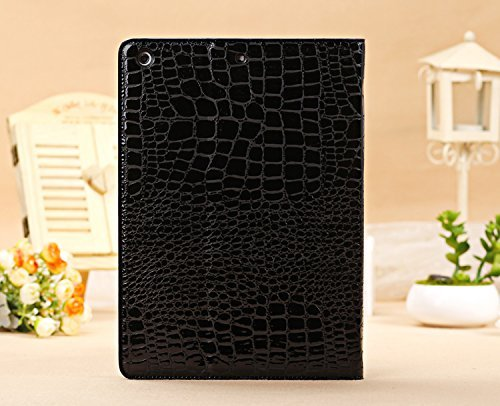 iPad Case for ipad Air 2, Vacio Luxury Book Style PU Leather Folio Stylish Stand Case Cover for ipad Air 2 (Black) by Vacio (Image #5)