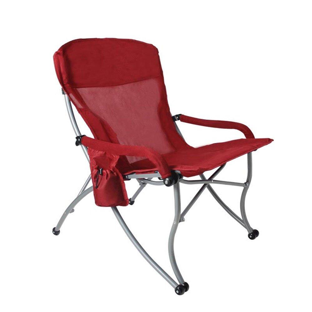 素晴らしい価格 ベンチ 屋外折りたたみ椅子ポータブルカジュアルビーチ釣りキャンプチェアレッド B07DBPVFK5 (A++) (A++) B07DBPVFK5, イシダスポーツ:c147e34a --- cliente.opweb0005.servidorwebfacil.com