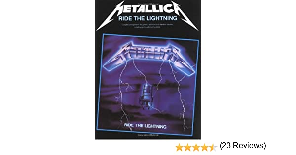Metallica: Ride the Lightning: Guitar TAB Edition by Metallica 1 ...