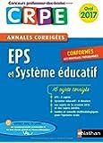 Annales CRPE Oral : EPS et Système éducatif